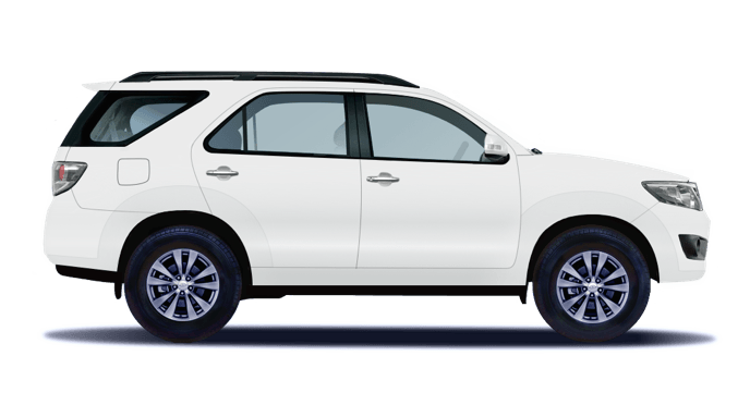 Rent car in Chiang Mai: Toyota Fortuner